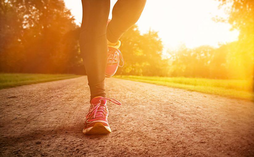 como bajar de peso corriendo o caminando y